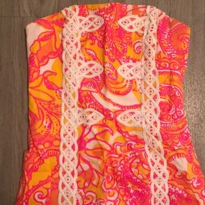 Lilly Pulitzer Dresses - Strapless Lilly Pulitzer Dress